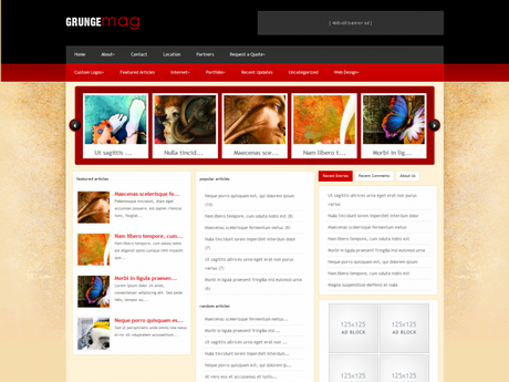 ElegantThemes WordPress主题 – GrungeMag