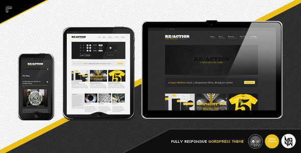ThemeForest wordpress主题 – Reaction