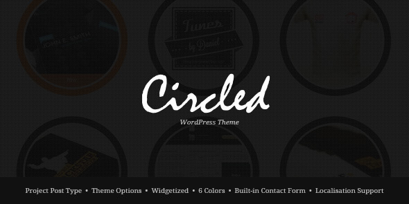 ThemeForest wordpress企业主题 – Circled