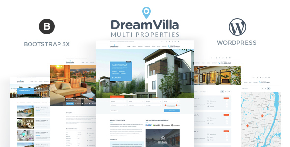 DreamVilla 地产置业 WordPress主题