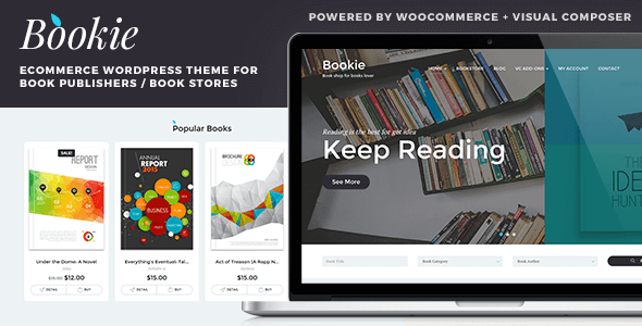 Bookie 书店 wordpress主题v1.1.2