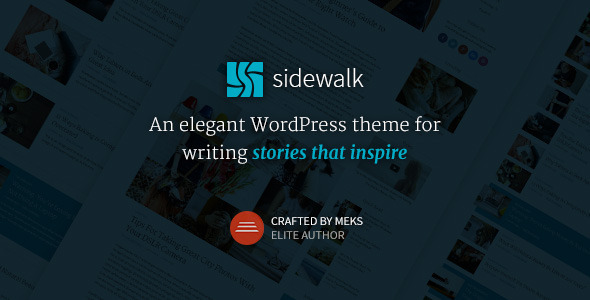 Sidewalk 博客 WordPress主题 v1.1
