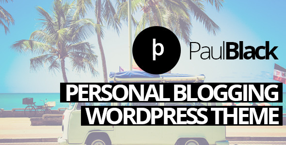 PaulBlack 博客 WordPress主題 v1.7